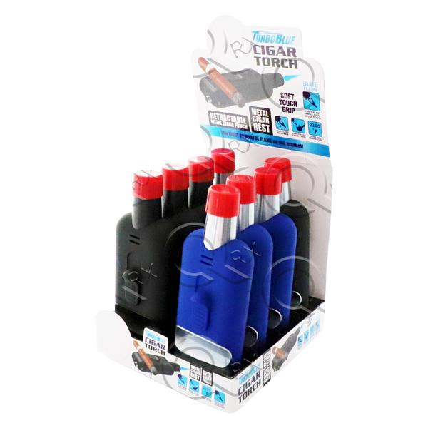 TurboBlue Cigar Torch - 8 Unit Display