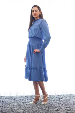 Ruffle Collar Dress