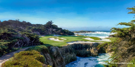 Pebble Beach Golf - Gallery-by-the-Sea Carmel