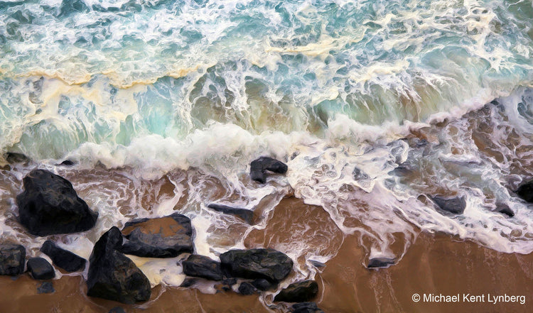 Seascapes Above the Waves - Gallery-by-the-Sea Carmel