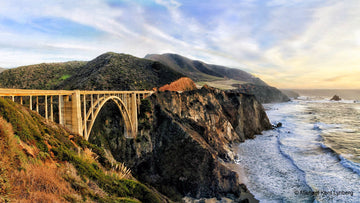 Bixby Bridge Panorama - Gallery-by-the-Sea Carmel