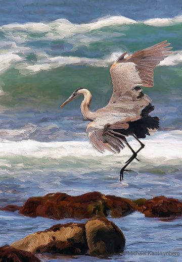 Blue Heron - Gallery-by-the-Sea Carmel