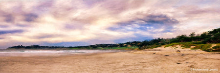 Carmel by the Sea Beach Panorama - Gallery-by-the-Sea Carmel