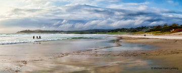 Carmel Beach Panorama - Gallery-by-the-Sea Carmel