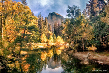 Half Dome Reflections - Gallery-by-the-Sea Carmel