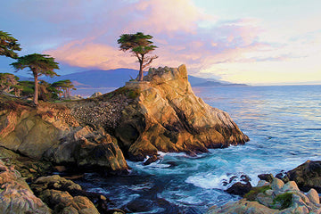 Lone Cypress Vista - Gallery-by-the-Sea Carmel