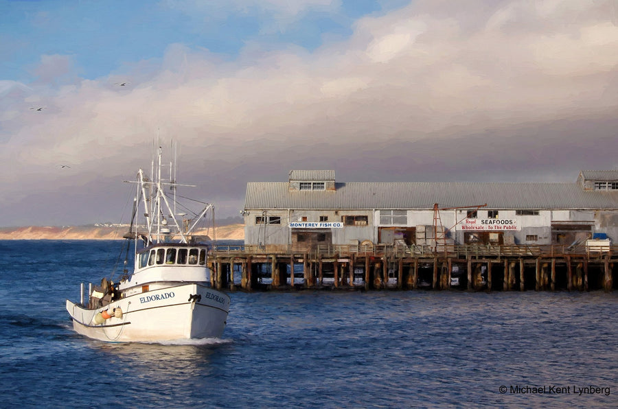 Monterey Fishing Boat - Gallery-by-the-Sea Carmel