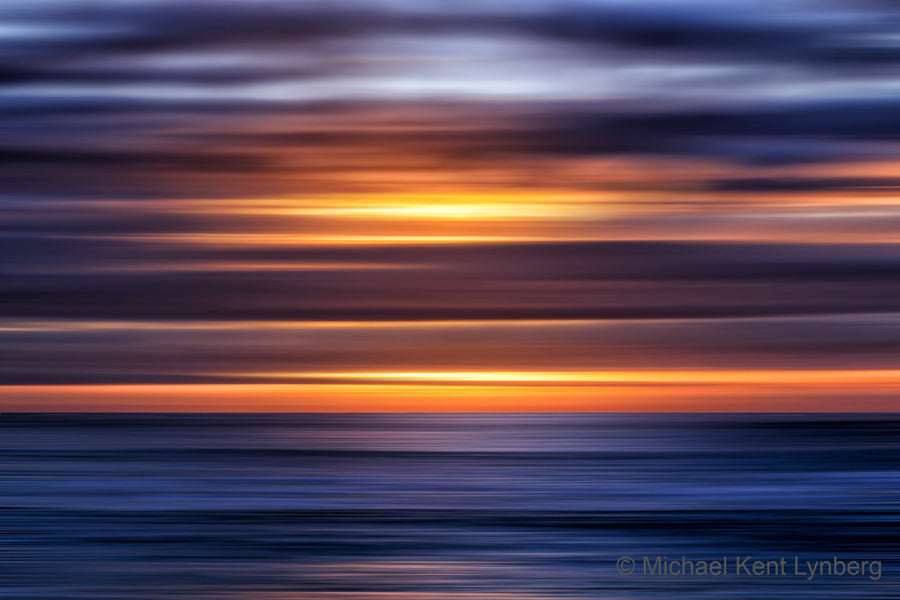 Ocean Sunset 14 - Gallery-by-the-Sea Carmel