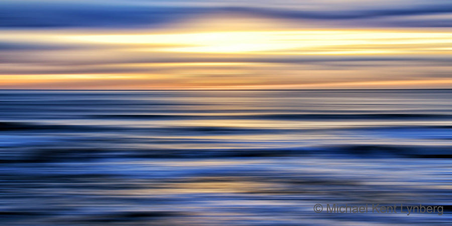 Half Moon Bay Sunset - Gallery-by-the-Sea Carmel