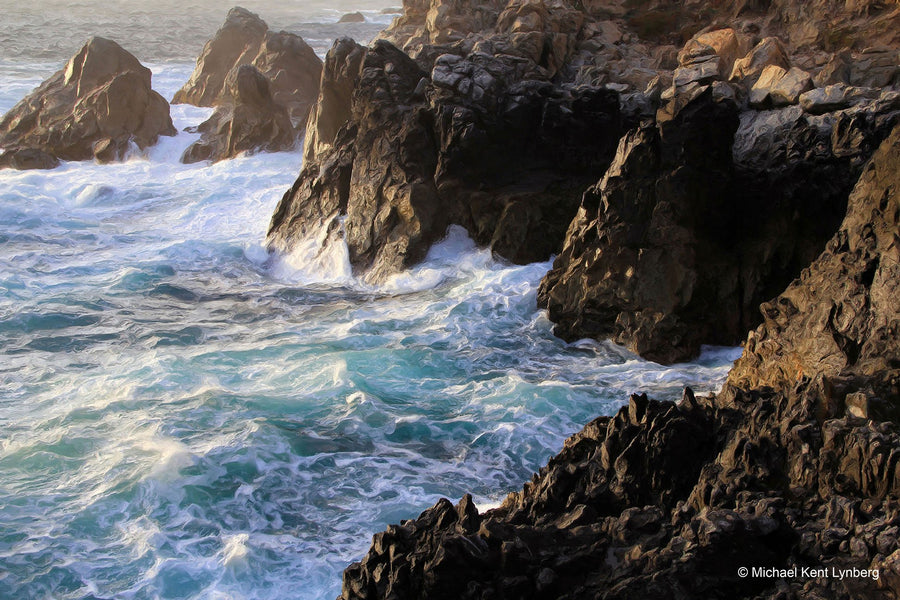 Restless Sea - Gallery-by-the-Sea Carmel