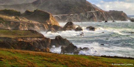 Rocky Creek Panorama - Gallery-by-the-Sea Carmel