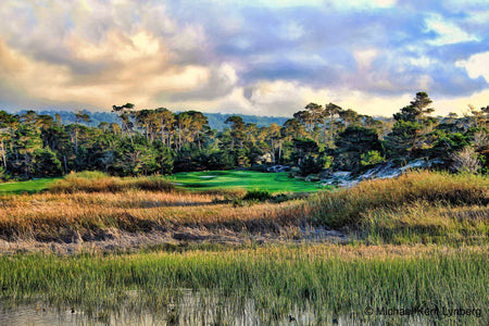 Spanish Bay 9th - Gallery-by-the-Sea Carmel