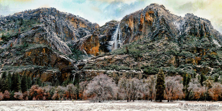 Yosemite Falls Winter - Gallery-by-the-Sea Carmel