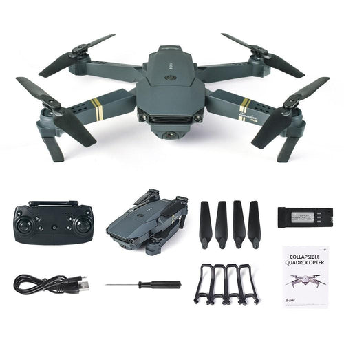 Eachine E58 with 720p HD Wide-Angle Camera - Quadcopter Drone - 2.4GHz with WIFI