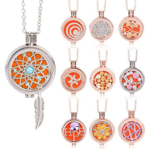 Living Memory Locket - Aromatherapy Diffuser Necklace