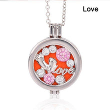 Load image into Gallery viewer, Living Memory Locket - Aromatherapy Diffuser Necklace
