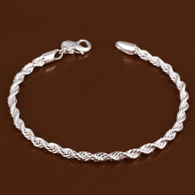 Load image into Gallery viewer, Elegant Silver Plated Bracelet