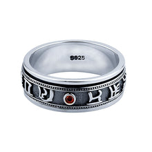 Load image into Gallery viewer, Thai 925 Sterling Silver Ring for Men