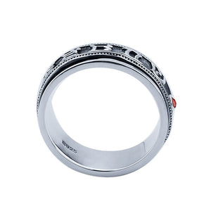 Thai 925 Sterling Silver Ring for Men