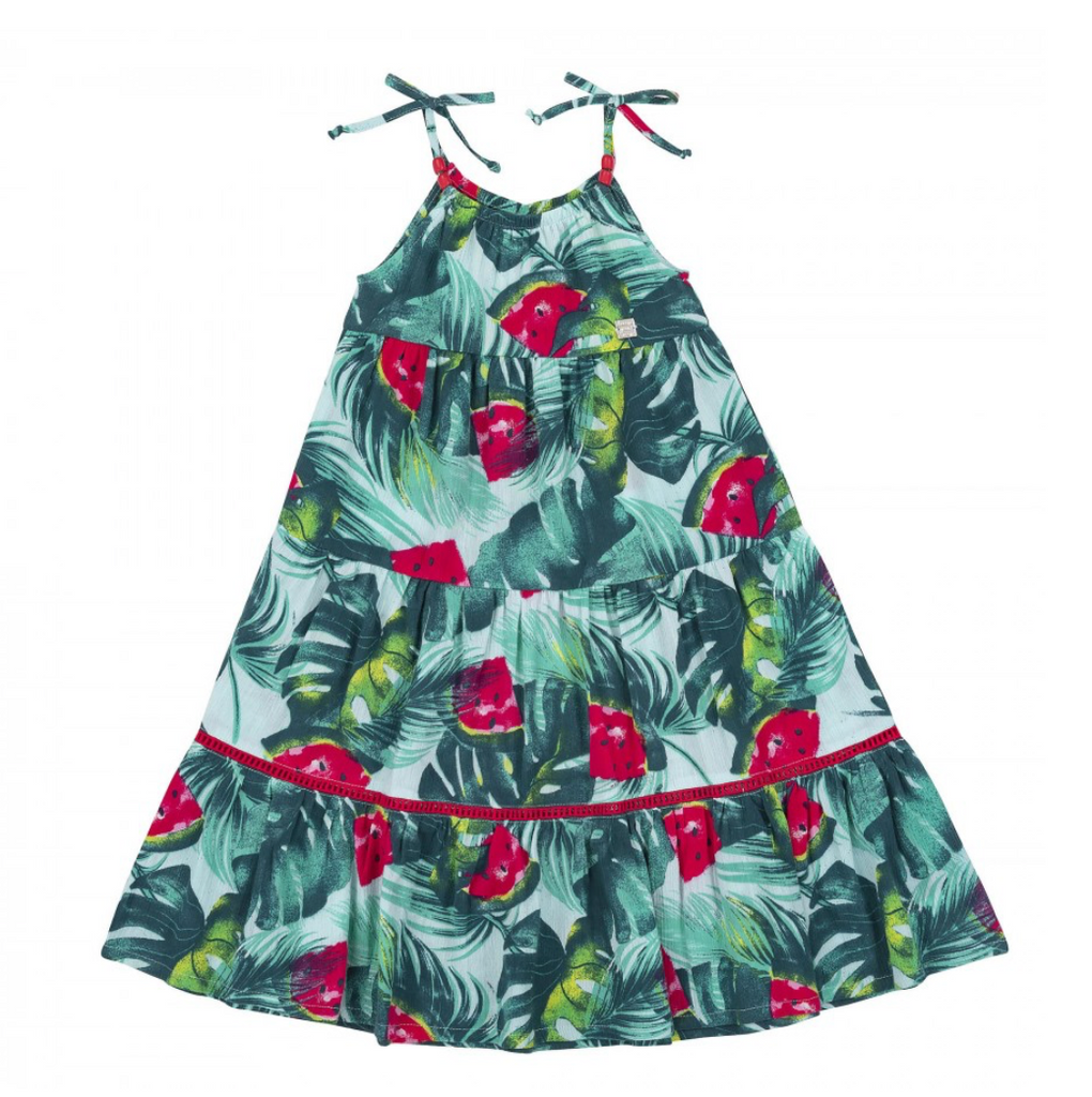 Deux par Deux Girls Watermelon Dress