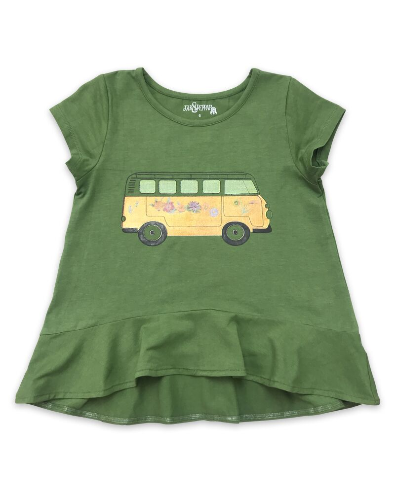 Jak & Peppar Olive Breezy Bus Top