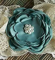 Frilly Frocks Nora Flower Clip