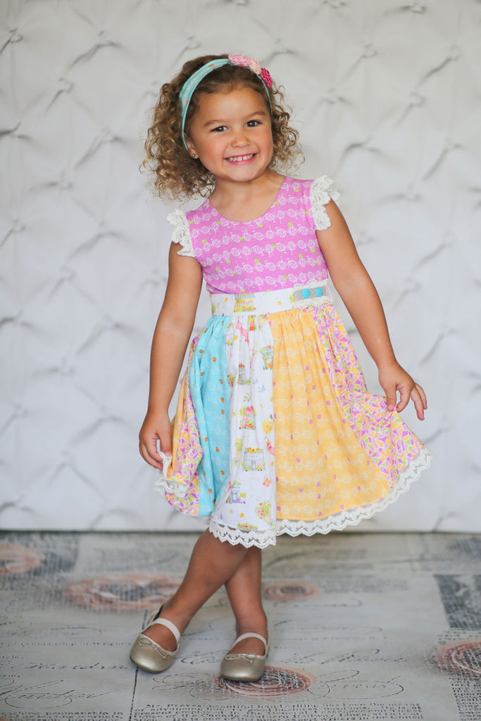 Giggle Moon Joy & Gladness Lynda Lou Dress PREORDER