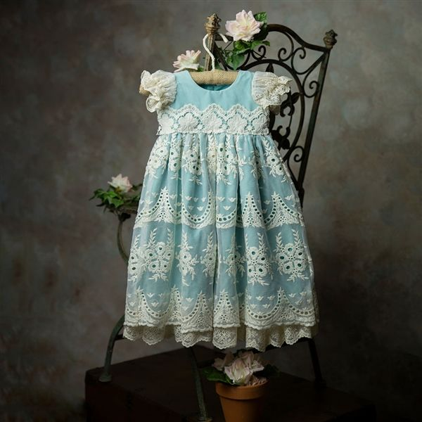Frilly Frocks Nora Baby Gown PREORDER