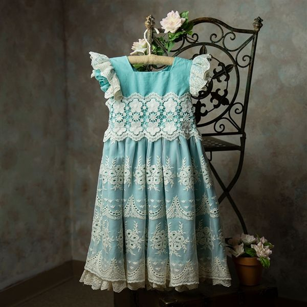 Frilly Frocks Nora Lace Dress PREORDER