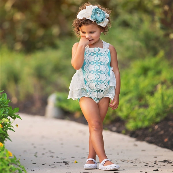 Frilly Frocks Nora Sunsuit PREORDER