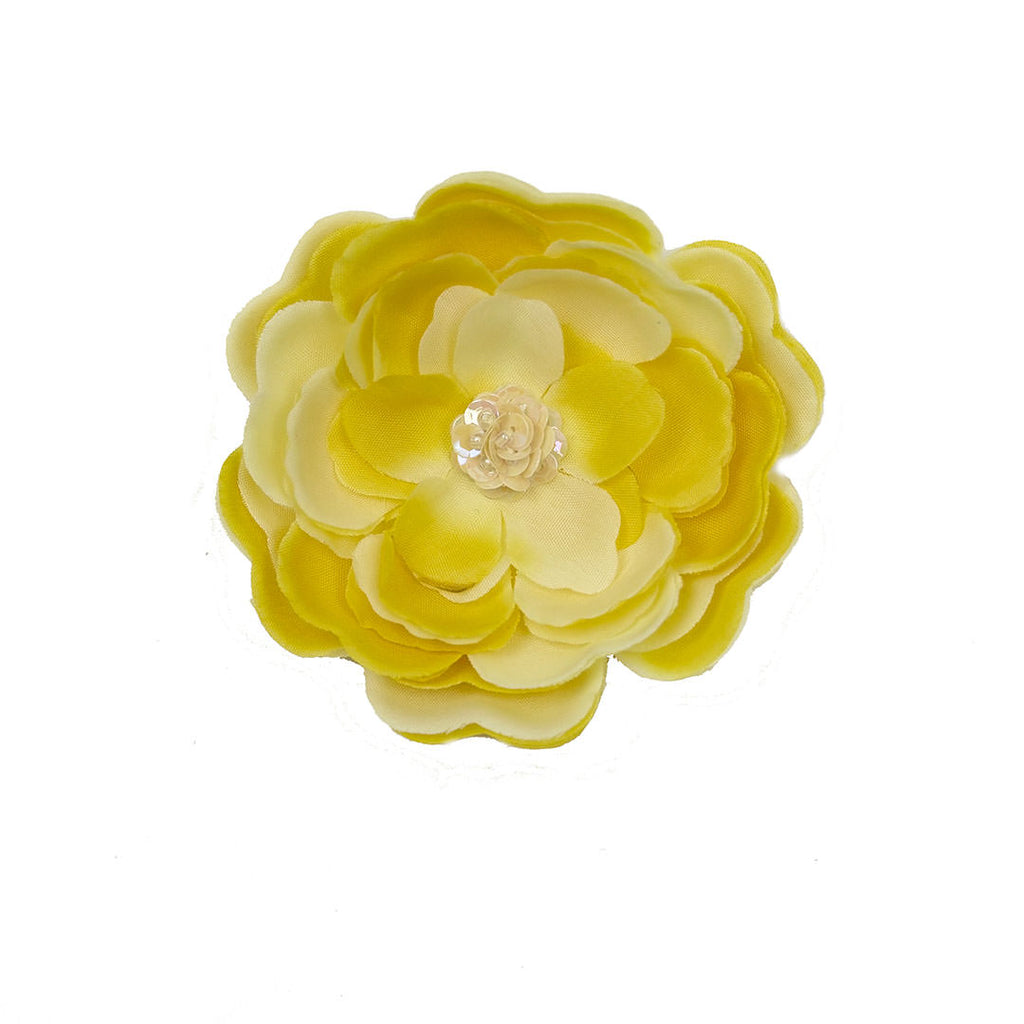 "Haute BabyYellow ""Kaylee's Bouquet"" Hair Clippee *SOLD OUT"