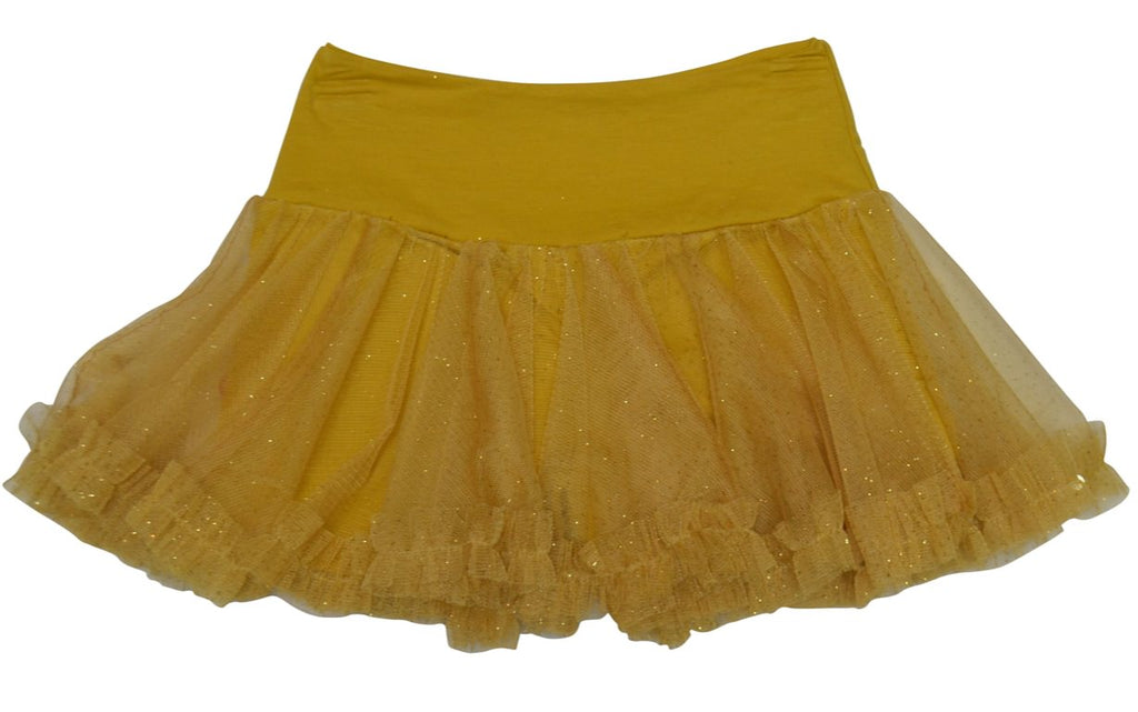 "Haven Girl Gold Patch ""Chloe"" Net Skort *FINAL SALE BLOW OUT*"