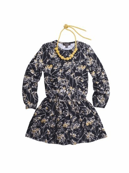 Imoga Collection Navy Floral Dress Set