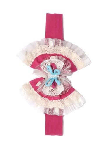 Isobella and Chloe Bubblegum Sweet Hard Band Headband