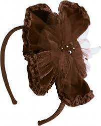 Isobella & Chloe Dark Chocolate Velvet Flower Headband *FINAL SALE* ONE LEFT!