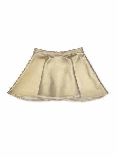 Kate Mack Gold Skater Skirt