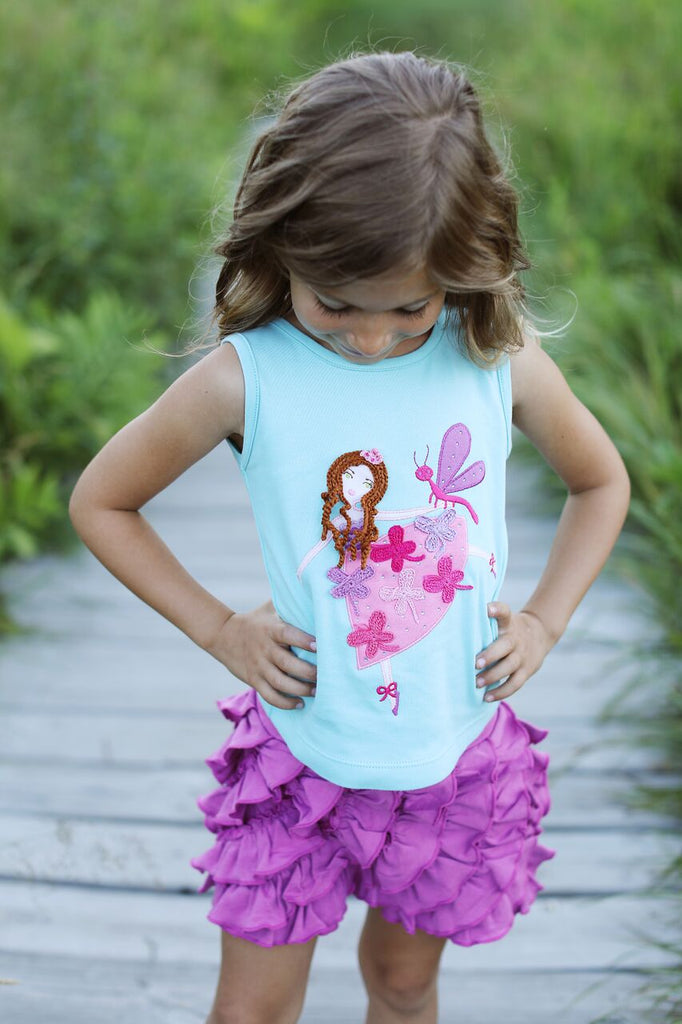 Lemon Loves Lime Dragonfly Fairy Dance Tank