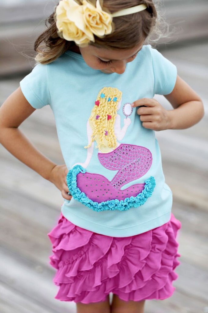 Lemon Loves Lime Mermaid Beauty Tee