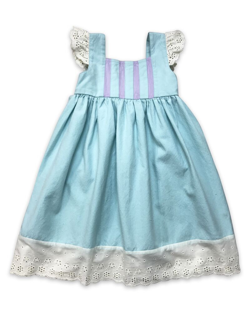 Little Prim Angelique Aqua Dress