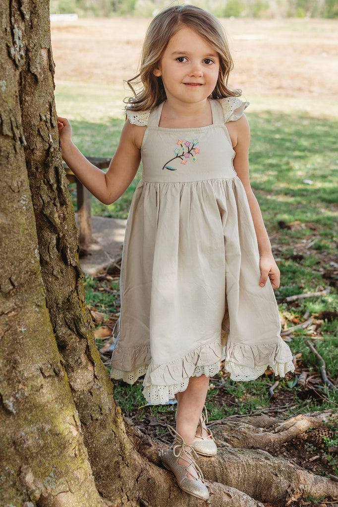 Little Prim Linen Lottie Dress