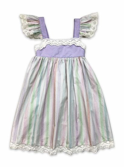 Little Prim Stripe Isadora Dress