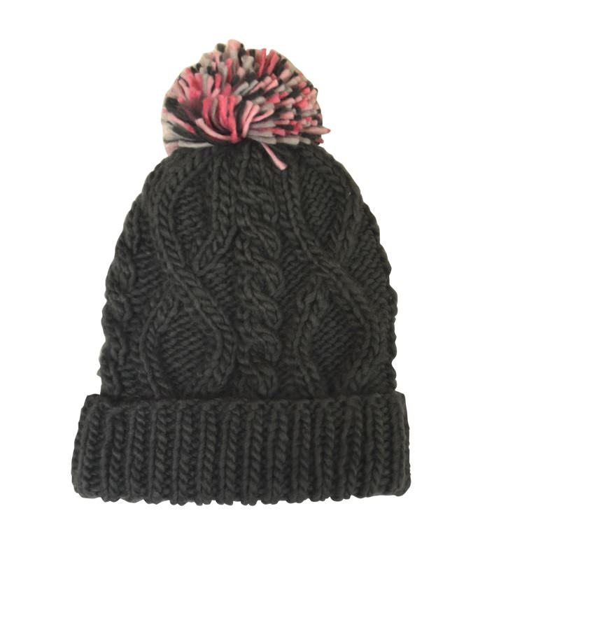 Mack & Co. Knit Pom Pom Hat-Free with Orders Over $100