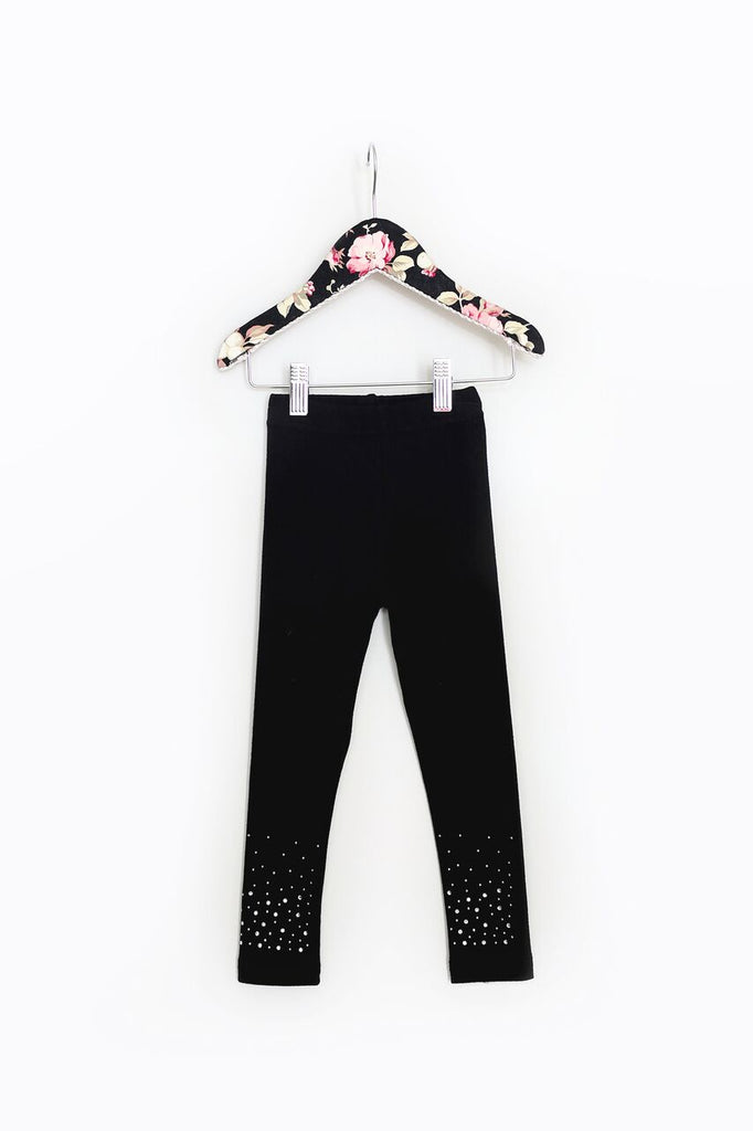 Mae Li Rose Black Legging