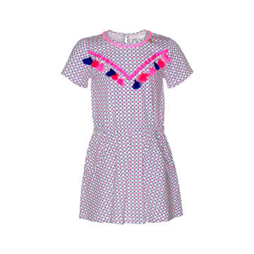 Mim Pi Tassel Spring School Dress
