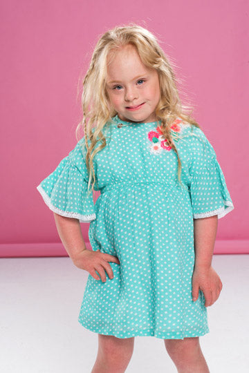 Mim Pi Spring Dotted Dress