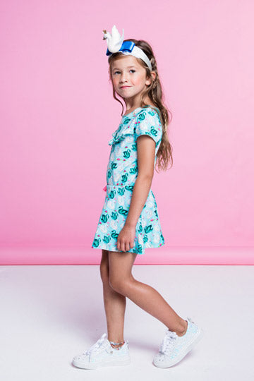 Mim Pi Swan Spring Dress