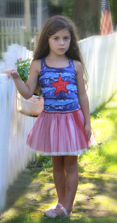 Ooh La La Couture 4th of July Dress
