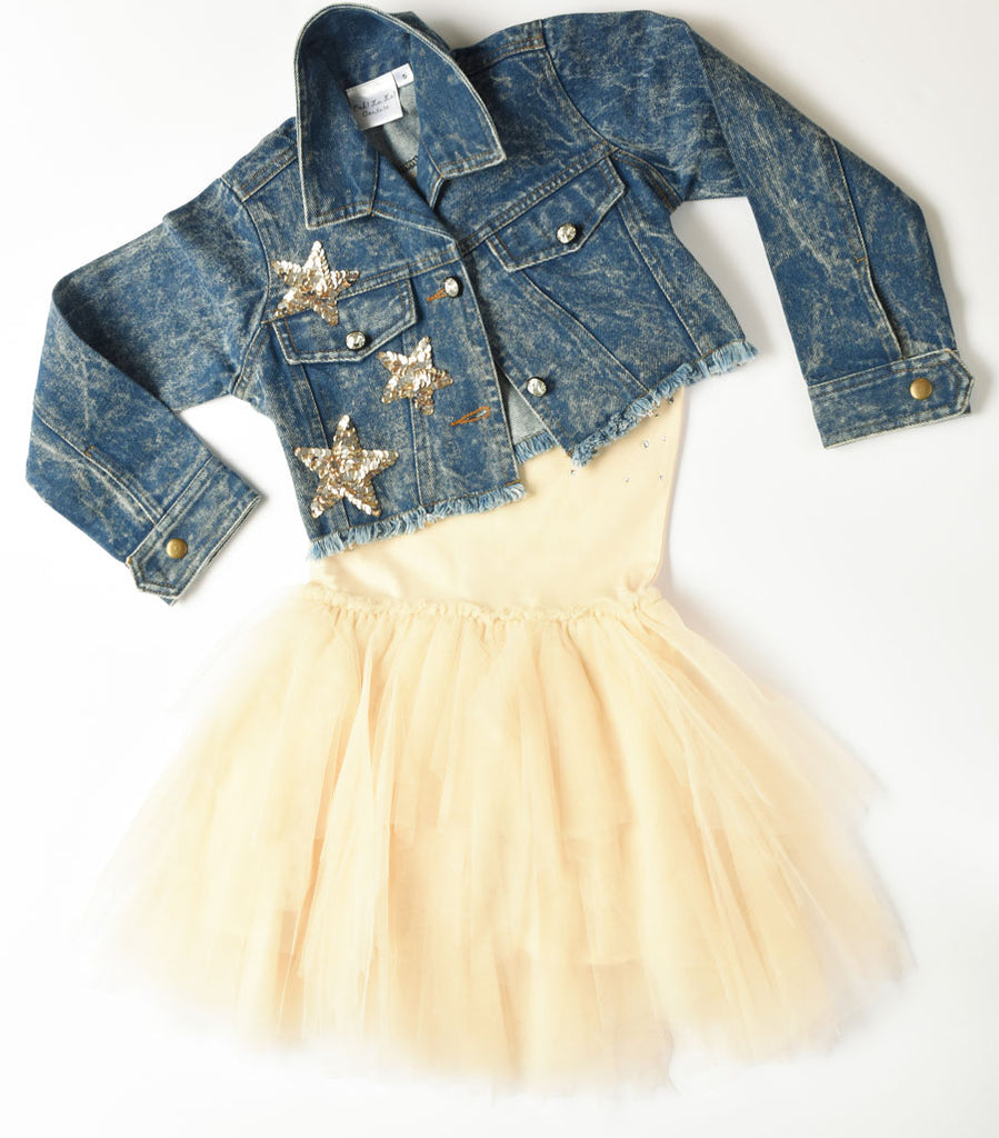 Ooh La La Couture Stardoms Denim Jacket