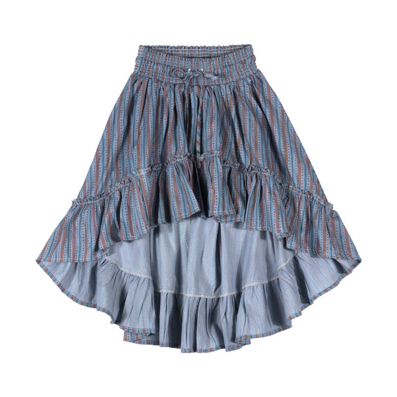 Paper Wings Stripe Hilo Skirt PREORDER