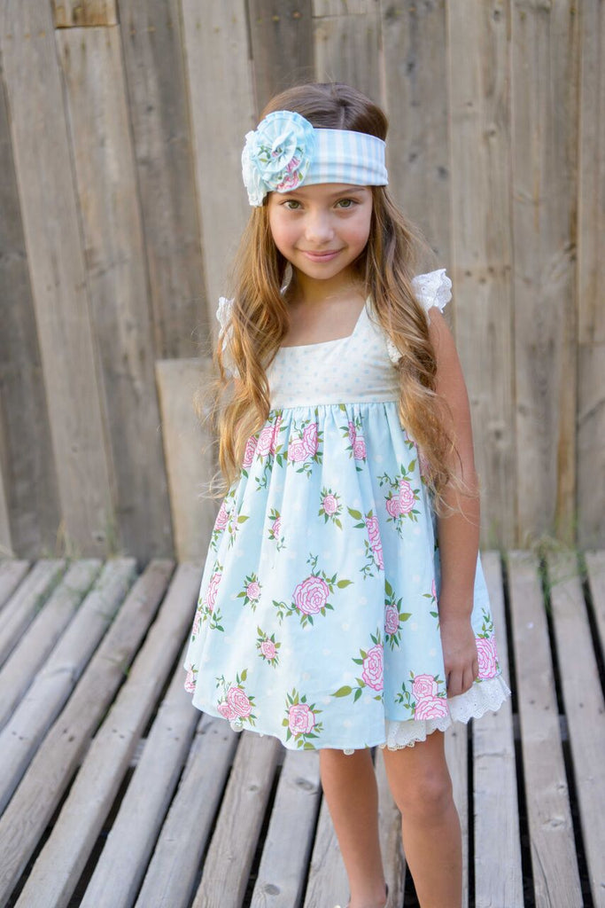 Serendipity Dot and Floral Tunic & Short SET
